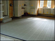 Flex Tile in Garage