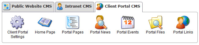 Client Portal CMS