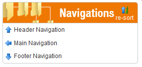 Finding the navigation tree