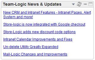 Team-Logic News Widget