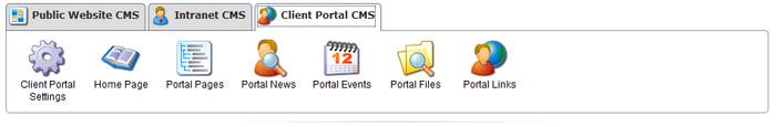 Portal CMS Options