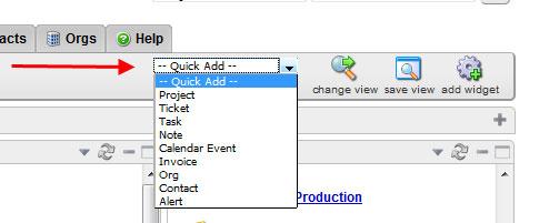 Quick Add Button