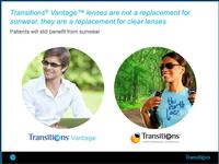 Transitions Vantage, a new everyday lens
