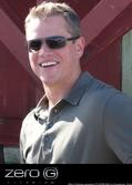Matt Damon wears Zero G